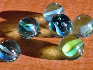 Multi color marbles